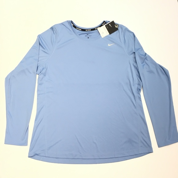 c6e80f2b8 Nike Tops | Womens Miler Long Sleeve Training Shirt | Poshmark